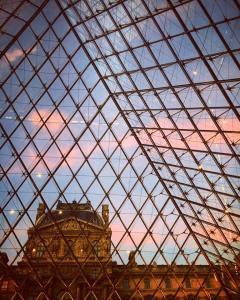 Paris + Louvre + Art