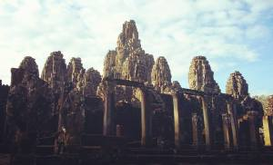 The Smiling Temple, Angkor Wat