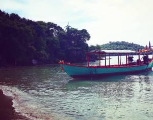 Island chilling in Cambodia