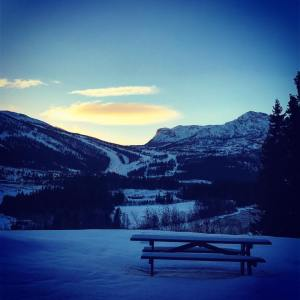 Norway, Hemsedal, Skiing